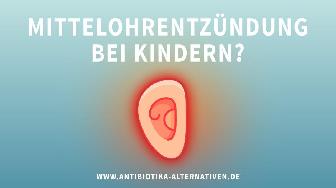 Mittelohrentzündung bei Kindern?