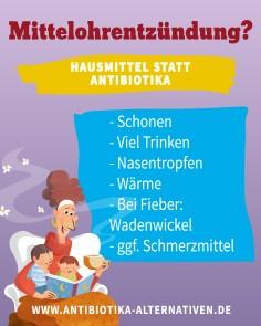 Mittelohrentzündung - Hausmittel statt Antibiotika