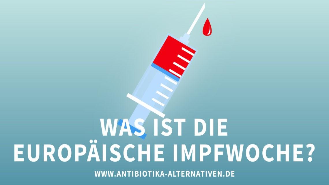 Was ist die europäische Impfwoche?
